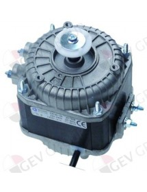 fan motor 25W 230V 50-60Hz L1 49mm L2 80mm L3 112mm W 84mm cable length 500mm 1300rpm