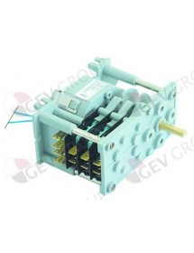 Timer CDC 7903F engines 1 chambers 3 operation time 4min 230V shaft ø 6x4,6mm FAGOR 007845 361351