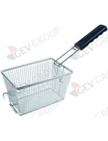 fryer basket W1 140mm L1 210mm H1 125mm chrome-plated steel TEF4L