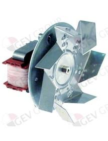 Ventilador de aire caliente 220-240V 32W L1 60mm L2 10mm L3 25mm L4 87mm