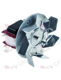 Ventilador de aire caliente 220V 45W L1 70mm L2 11mm L3 25mm L4 87mm rodete ventilador ø 150mm