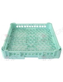 mix basket GASTROTOP L 500mm W 500mm H 100mm mesh type wide-meshed usable height 75mm