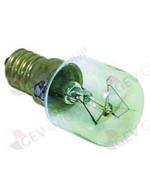 bombilla incandescente T máx 300°C E14 15W 230V para lámpara de horno tipo Philips