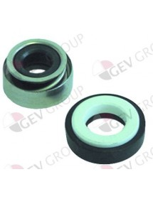 mechanical shaft seal for shaft ø 11mm ED ø 24mm height counter ring 8mm mounting ø 24/26mm