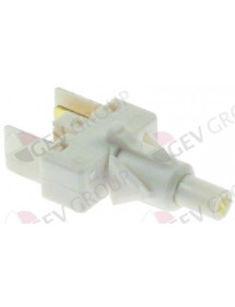 Monetary switch unit 1NO 250V 16A connection male faston 6,3mm 347193 TEKNO-4 15729