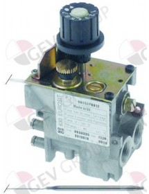 gas thermostat type series 630 Eurosit t.max. 320°C 80-320°C gas input 3/8""