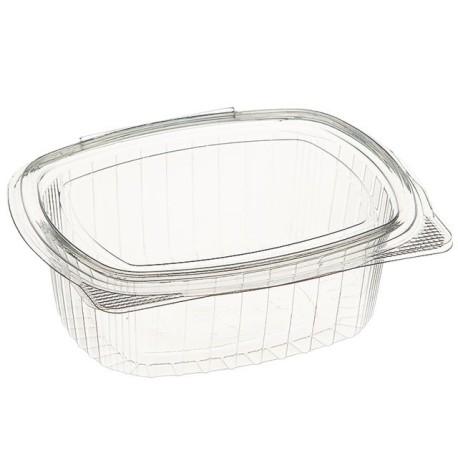 Envase OPS Ovalado Bisagra (Pack 50 Uds)