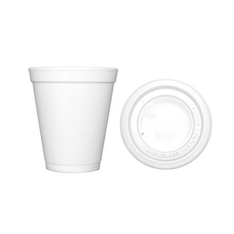 Tapa Vaso Termico 7oz – 200ml (Pack 100 Uds) CSM