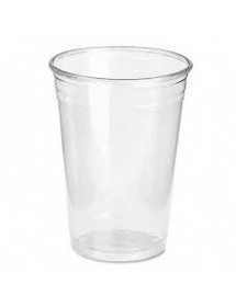 Plastic Glass 330 cc TRANSPARENT (Pack 50 uds)