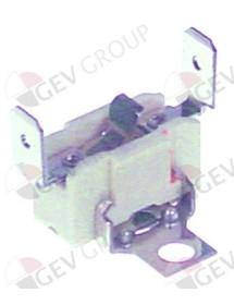 termostato de superficie de seguridad 200°C 1NC 1polos 16A empalme conector Faston 6,3mm vertical