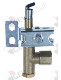 pilot burner PRO-GAS type series 100 1 flame nozzle ø 0,2mm Gasco