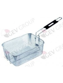 fryer basket L1 260mm W1 190mm H1 105mm chrome-plated steel FriFri