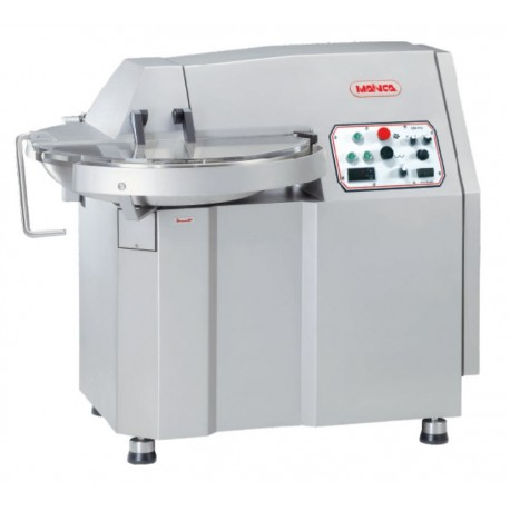 Cutter for the meat industry