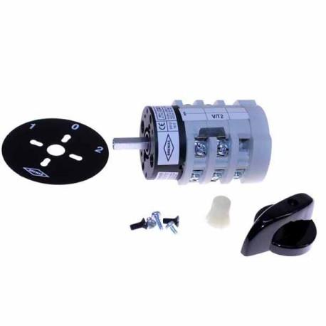 Interruptor Trifásico con inversor de giro 16A.