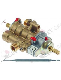 gas thermostat PEL type 25ST t.max. 320°C 120-320°C gas input M16x1,5 (tube ø 10mm) Jemi
