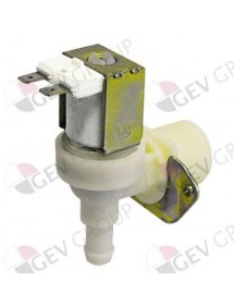 "solenoid valve single angled 230V inlet 3/4"" outlet 11,5mm DN10 TP"