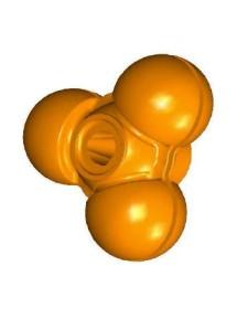 Tambor macho plástico Zumex ASP (2unidades)
