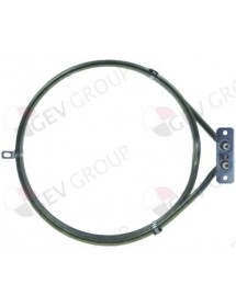 Heating element 4000W 230V heating circuits 1 ID ø 217mm ED ø 233mm L 265mm H 50mm L1 25mm Piron