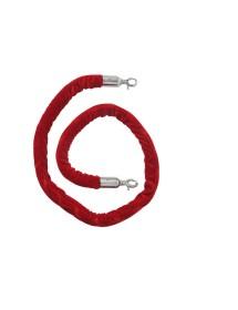 Cordón color rojo de 1,5 m para poste cónico