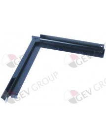Door guides mounting pos. right L 255/320mm W 35mm ITV