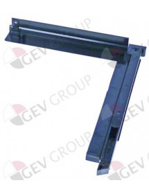 door guides mounting pos. Left L 255/320mm W 35mm ITV
