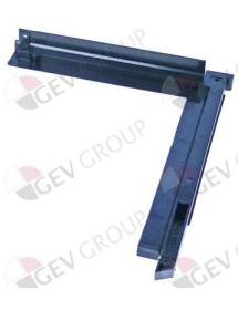 Guía de puerta pos. de montaje derecho L 255/320mm An 35mm ITV