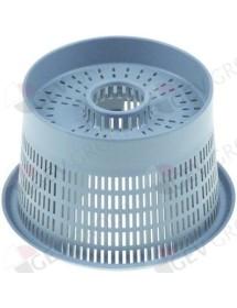 Filtro redondo ø 88/112mm H 68mm pos. de montaje exterior aspiración/salida Eurotec
