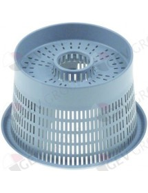 round filters ø 88/112mm H 68mm mounting pos. outer suction/outflow Eurotec
