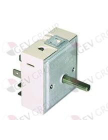 regulador de energía 230V 13A circuito simple sentido de rotación derecho eje ø 6x4,6mm