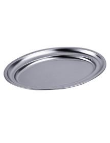 Bandeja Oval borde vuelto de 30x20 cm