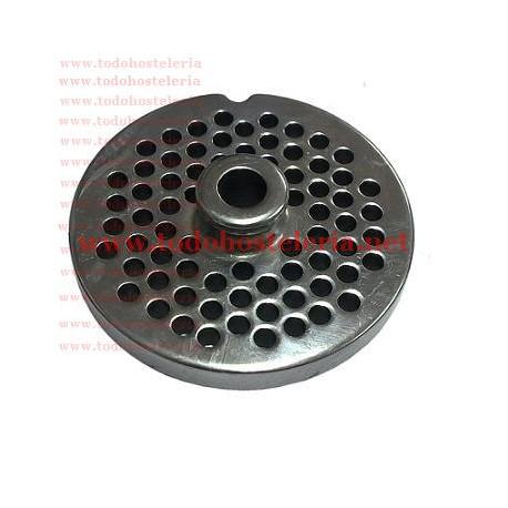 Placa Inoxidable de 22 agujero de 5mm con pivote