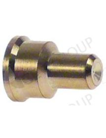 pilot burner nozzle POLIDORO LPG code 20 bore ø 0,2mm Qty 1 pcs