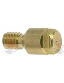 pilot burner nozzle bore ø 0,21mm M4x0,75 Qty 1 pcs WS 5