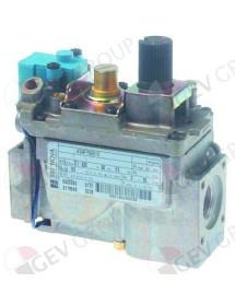 """válvula de gas 220V 60Hz entrada gas ½"""" salida gas ½"""" conexión Electrolux, SIT, Zanussi"""