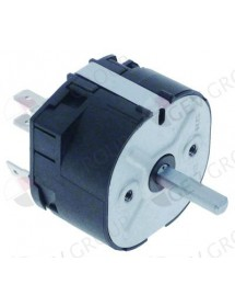 Time switch M2 2-pole operation time 120min impulse mechanical 2CO at 250V 16A Falcon, Tecnoeka, Unox