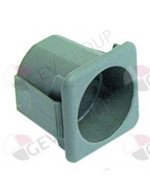 element holder 28,5x28,5mm grey single element holder Comenda, Hoonved, Mareno