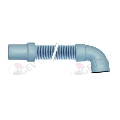 drain hose DN24 L 2000mm straight ø inside 32mm straight ext. ø 35mm elbow ø inside 40mm Comenda