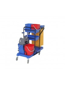Multifunction cleaning trolley Polypropylene