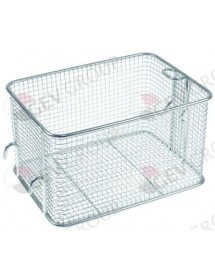 fryer basket W1 2200mm L1 160mm H1 130mm chrome-plated steel Horeca-Select