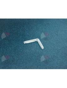 Esquina deslizante espesor de hilo 5mm L 120mm An 120mm H 12mm L-Form