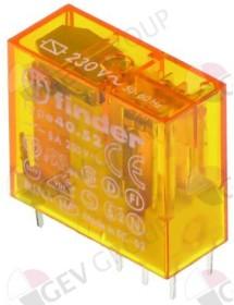 relé Finder para circuito impreso 250V AC 2CO a 250 V 8A