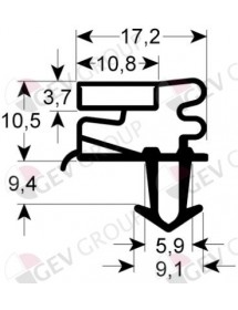 Refrigeration gasket profile Eutron FC-100