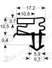 Refrigeration gasket profile Eutron FC-300