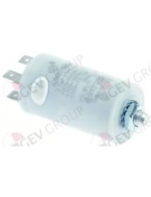 Condensador de servicio capacidad 2,5 µF 400 V tolerancia 5 % 50Hz