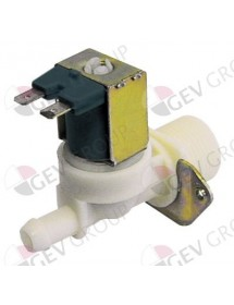 "solenoid valve single straight 230 V inlet 3/4"" outlet 11,5 mm DN10 ELBI"