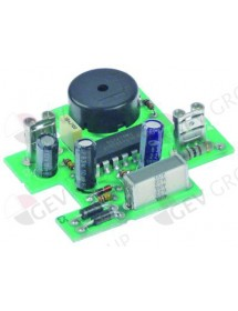 buzzer board 230V L 48mm W 45mm connection Faston 6,3mm Garbin, Gierre, Giorik, Inoxtrend, Tecnoeka, Unox, Whirlpool