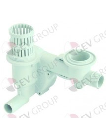 intake body suitable for ELETTROBAR, WOLK equiv. no. 111023 Colged, Elettrobar, Eurotec, Rancilio