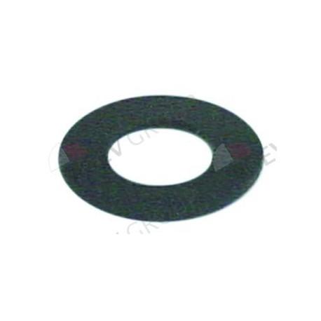 flat gasket rubber D1 ø 33mm D2 ø 17mm thickness 1,5mm Qty 1 pcs Colged, Elettrobar, Eurotec, Rancilio 437078