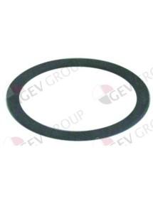 Flat gasket rubber D1 ø 61mm D2 ø 47mm Amatis, Bonnet, Colged, Elettrobar, Eurotec, Rancilio 437079