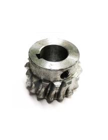 Engranaje Metálico Cortadora a Tiras QX-01 Eje 20mm Diámetro exterior 46mm 15 dientes